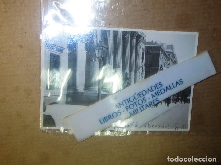 Militaria: DESPUES DE BOMBARDEOS PALACIO CORTES MADRID LIBERADO ! GRAN VIA EN PLENA GUERRA CIVIL IV 1939 - Foto 5 - 119254699
