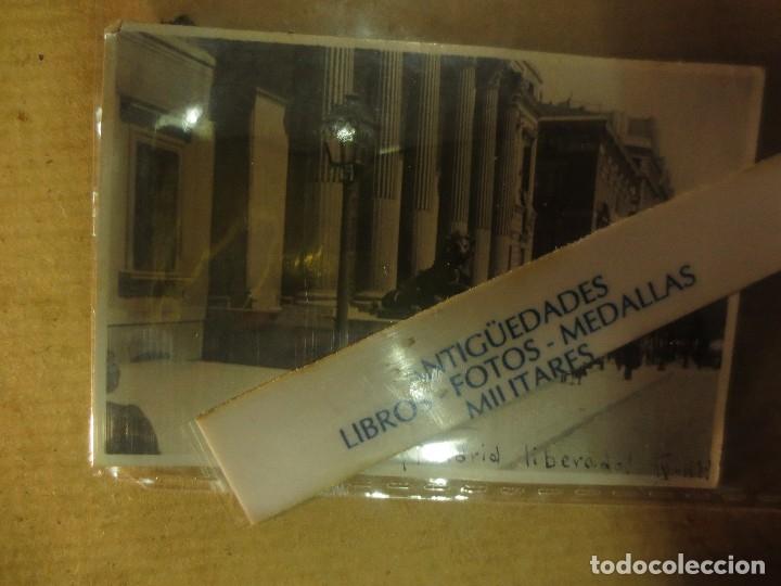 Militaria: DESPUES DE BOMBARDEOS PALACIO CORTES MADRID LIBERADO ! GRAN VIA EN PLENA GUERRA CIVIL IV 1939 - Foto 6 - 119254699