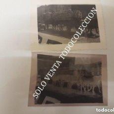 Militaria: SOLDADOS REPUBLICANOS CARRO CABALLOS NEGATIVO Y FOTO ORIGINAL GUERRA CIVIL ESPAÑOLA. Lote 125205975