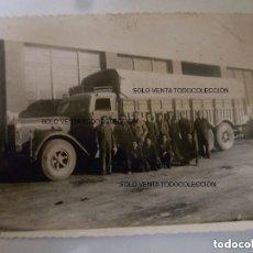 Militaria: A1 HENSCHEL 6J CAMIÓN EX MILITAR FOTO ORIGINAL EX GUERRA CIVIL ESPAÑOLA. Lote 125206071