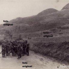 Militaria: DIVISION LITTORIO CTV FRENTE NORTE RUMBO SANTANDER 1937 GUERRA CIVIL. Lote 125208931