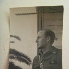 Militaria: GUERRA CIVIL : FOTO DE ALFEREZ PROVISIONAL DE ARTILLERIA . Lote 125213459