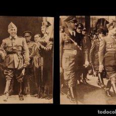 Militaria: FRANCO Y HITLER, FRANCO.. Lote 125361771