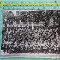 Militaria: FOTO FOTOGRAFÍA MILITAR. SOLDADOS MILITARES ALTOS MANDOS. 1824. Lote 126011443