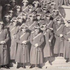 Militaria: GUARDIA CIVIL AÑOS 40, IMPRESIÓN ACTUAL RARA FOTO FAMILIAR - CLC. Lote 126131215