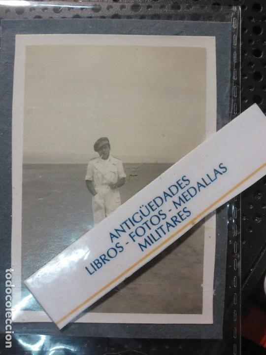 AVIACION PILOTO CAPITAN DE TERCIO LEGION MELILLA GUERRA CIVIL ESPAÑOLA 1939 (Militar - Fotografía Militar - Guerra Civil Española)