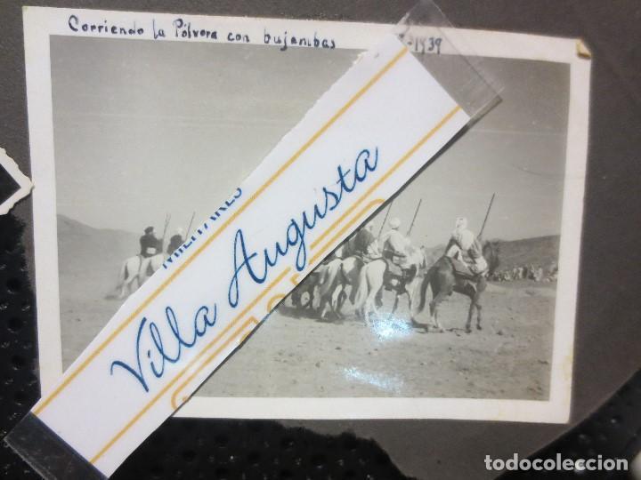 Militaria: SULTAN AZUL LEGION DE MELILLA TABOR CORRIENDO POLVORA CELEBRACION FIN GUERRA CIVIL 1939 - Foto 2 - 126316063