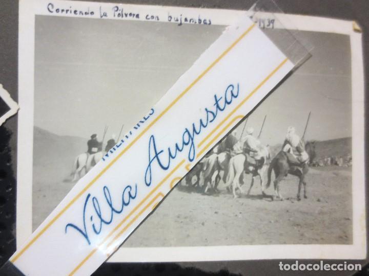 Militaria: SULTAN AZUL LEGION DE MELILLA TABOR CORRIENDO POLVORA CELEBRACION FIN GUERRA CIVIL 1939 - Foto 3 - 126316063