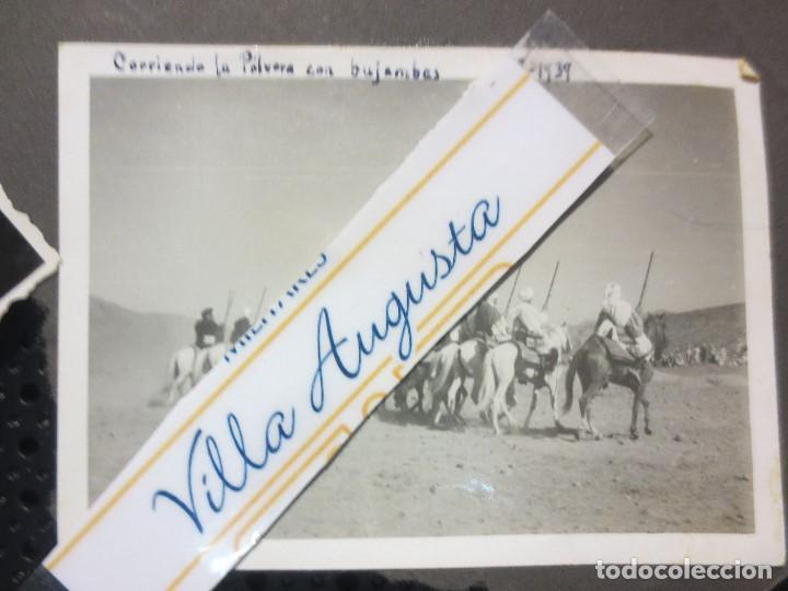 Militaria: SULTAN AZUL LEGION DE MELILLA TABOR CORRIENDO POLVORA CELEBRACION FIN GUERRA CIVIL 1939 - Foto 4 - 126316063