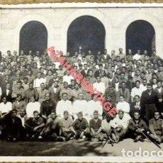 Militaria: ELIZONDO, NAVARRA, GUERRA CIVIL. GRUPO DE MILITARES, FOT.V.MENA, 14X9 CMS MUY RARA. Lote 126717031