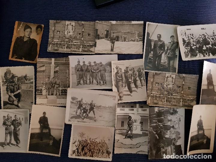 LORE DE FOTOGRAFÍAS MILITARES (Militar - Fotografía Militar - Guerra Civil Española)
