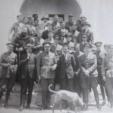 Militaria: FOTOGRAFÍA OFICIALES DEL EJÉRCITO ESPAÑOL. GUERRA DE MARRUECOS. Lote 126812091