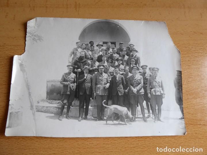 Militaria: Fotografía oficiales del ejército español. Guerra de Marruecos - Foto 2 - 126812091