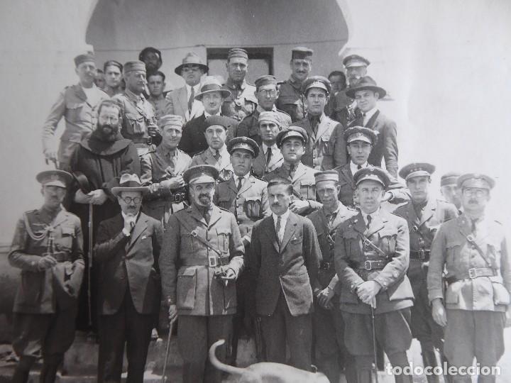 Militaria: Fotografía oficiales del ejército español. Guerra de Marruecos - Foto 3 - 126812091