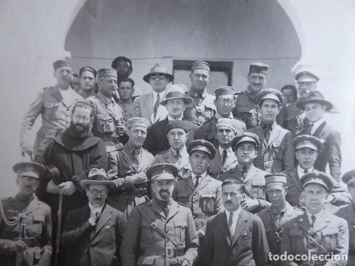 Militaria: Fotografía oficiales del ejército español. Guerra de Marruecos - Foto 6 - 126812091
