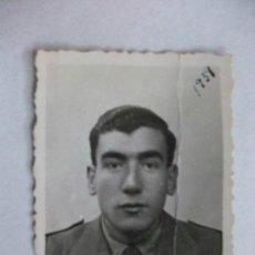 Militaria: GUERRA CIVIL : FOTO DE CARNET DE MILITAR , ALFEREZ PROVISIONAL . JAEN, 1939. Lote 127459963