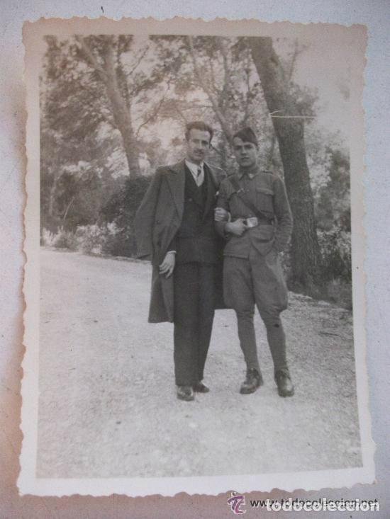GUERRA CIVIL : FOTO DE SOLDADO DE SANIDAD MILITAR (Militar - Fotografía Militar - Guerra Civil Española)