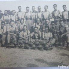 Militaria: FOTOGRAFÍA ANTIGUA MILITAR. SOLDADOS. 9 CM X 6,5 CM.. Lote 127881599