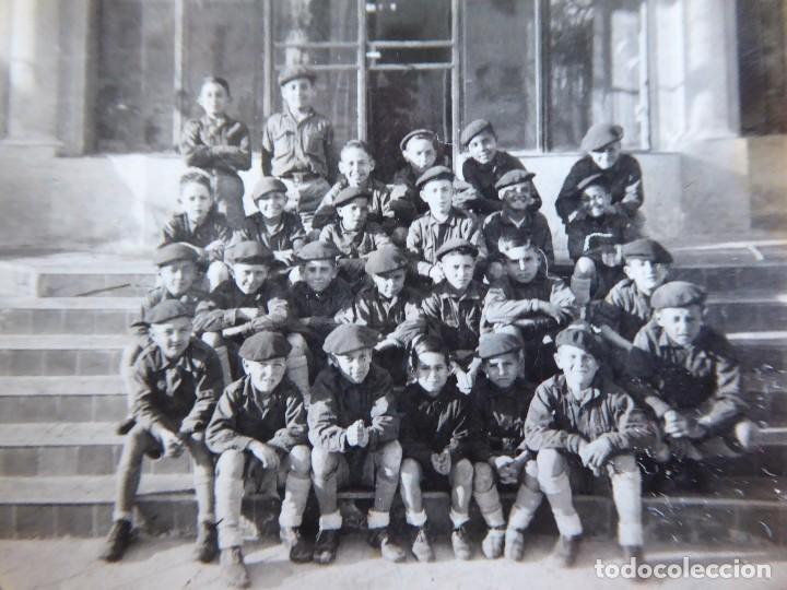 FOTOGRAFÍA NIÑOS FRENTE JUVENTUDES. (Militar - Fotografía Militar - Otros)