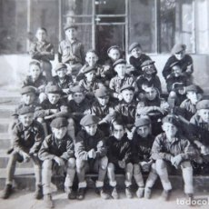 Militaria: FOTOGRAFÍA NIÑOS FRENTE JUVENTUDES.. Lote 127923823
