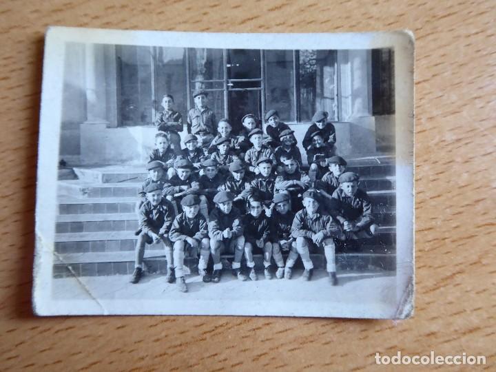 Militaria: Fotografía niños Frente Juventudes. - Foto 2 - 127923823