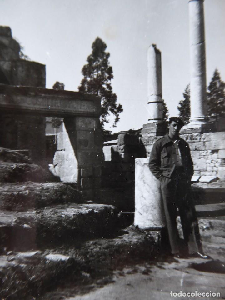 FOTOGRAFÍA ALFÉREZ PROVISIONAL DEL EJÉRCITO NACIONAL. MÉRIDA (Militar - Fotografía Militar - Guerra Civil Española)