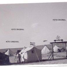 Militaria: CAMPAMENTO LEGION CONDOR 1./F88 ARTILLERIA AERODROMOS ZONA SUR GUERRA CIVL. Lote 128114347