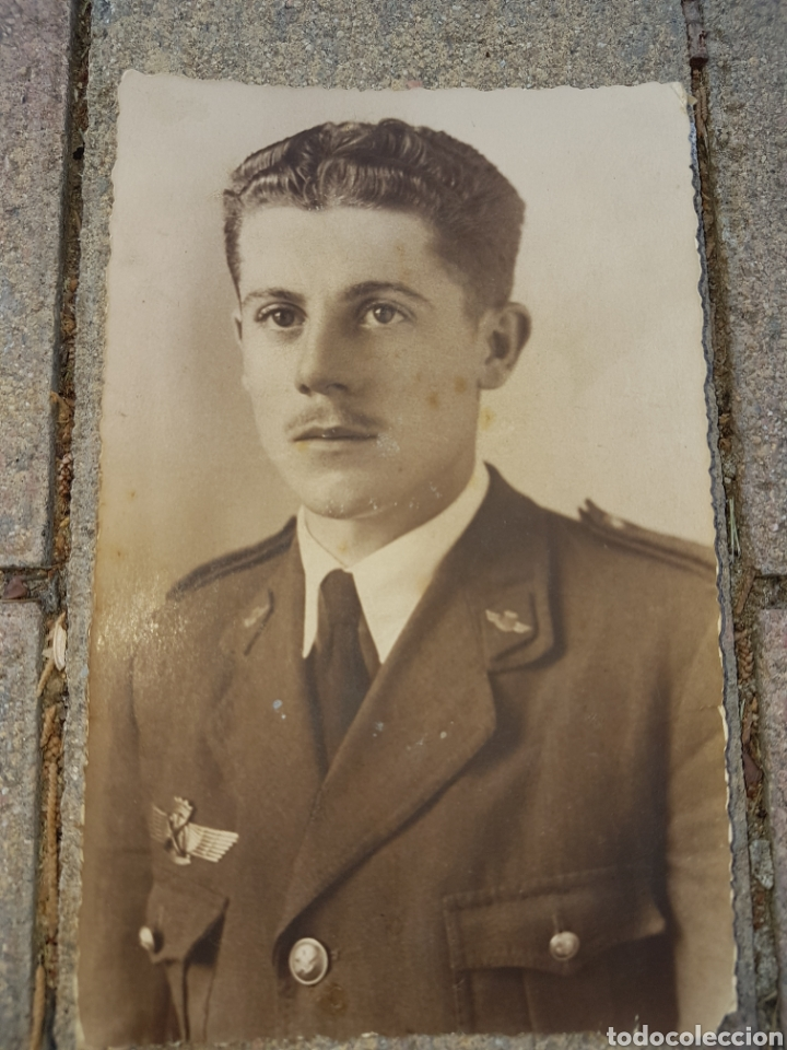FOTO POSTAL AVIADOR FRANQUISTA 1943 ROKISKI SAN JAVIER (Militar - Fotografía Militar - Otros)