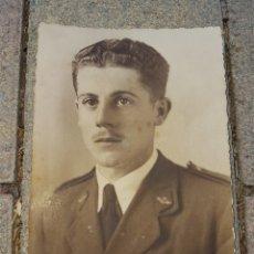 Militaria: FOTO POSTAL AVIADOR FRANQUISTA 1943 ROKISKI SAN JAVIER. Lote 128134100