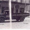 Militaria: FURGONETA COLUMNA BRITANICA BRIGADAS INTERNACIONALES CIFESA MADRID GUERRA CIVIL 1939 LEGION CONDOR. Lote 128135051