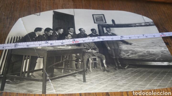 FOTOGRAFÍA DE MILITARES ESPAÑOLES DE LA AVIACIÓN ESPAÑOLA AÑOS 20 (Militar - Fotografía Militar - Guerra Civil Española)