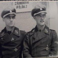 Militaria: OFICIALES DE LAS WAFFEN SS. PZ. ABT. 2 2 KOMPANIE. ARCHIVOS DE LA URSS. Lote 128353211