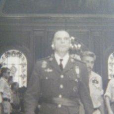 Militaria: AVIACION: GRAL. MARIANO CUADRA, MEDALLA MILITAR INDIVIDUAL CRUZ HIERRO. ESCUADRILLA AZUL. TOLEDO, 64. Lote 128427563