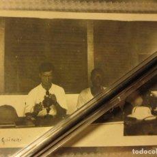 Militaria: OFICIAL FOTOGRAFO OFICIALES LEGION GUINEA FOTO DE ALBUM DE FOTOS DE GUERRA CIVIL. Lote 128466103