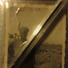 Militaria: FOTO ANTIGUA OFICIAL HAMED AVANCVE EN CATALUÑA LEGION GUERRA CIVIL XI 1938. Lote 128467691