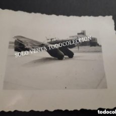 Militaria: FOTO ORIGINAL JUNKERS JU 87 A STUKA AVIÓN BOMBARDERO SEGUNDA GUERRA MUNDIAL. Lote 128685003