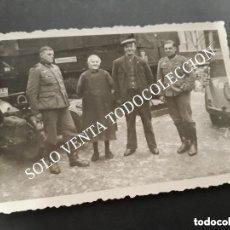 Militaria: FOTO ORIGINAL DIVISIÓN AZUL ESPAÑOLA SOLDADO DIVISIONARIO SEGUNDA GUERRA MUNDIAL. Lote 128685111