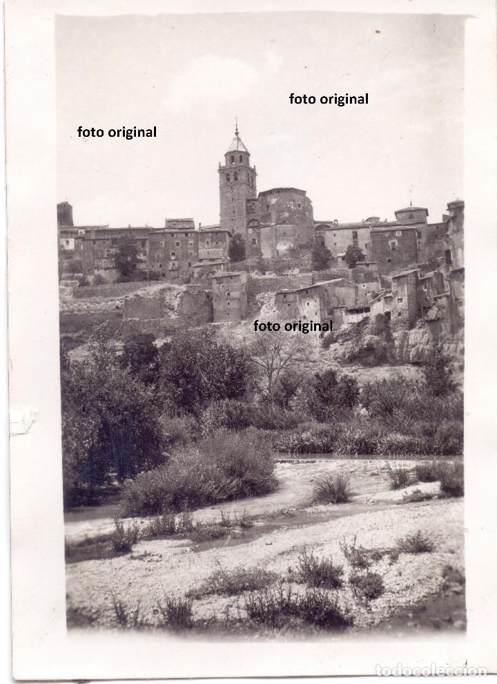 VISTAS ALBARRACIN(TERUEL) PRINCIPIOS 1938 LEGION CONDOR GUERRA CIVIL (Militar - Fotografía Militar - Guerra Civil Española)
