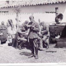Militaria: LEGION CONDOR HORA COMIDA COCINA MOVIBLE ZONA SUR O TOLEDO GUERRA CIVIL. Lote 128798135