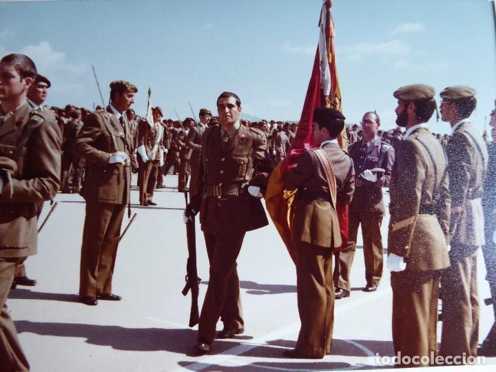 FOTOGRAFÍA SOLDADO DEL EJÉRCITO ESPAÑOL. CIR JURA DE BANDERA (Militar - Fotografía Militar - Otros)