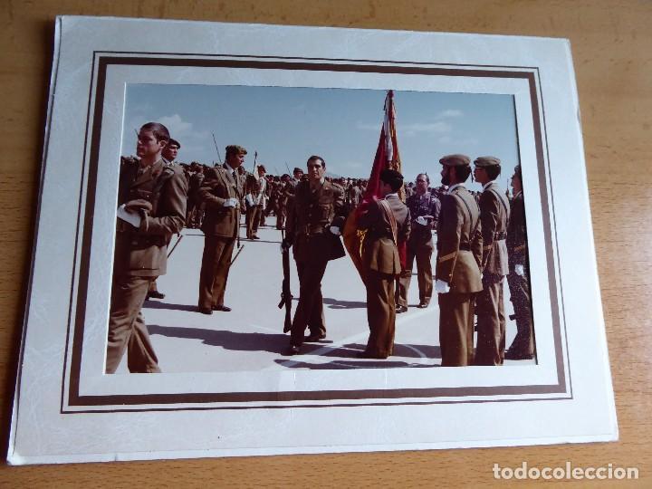 Militaria: Fotografía soldado del ejército español. CIR Jura de bandera - Foto 2 - 128832215
