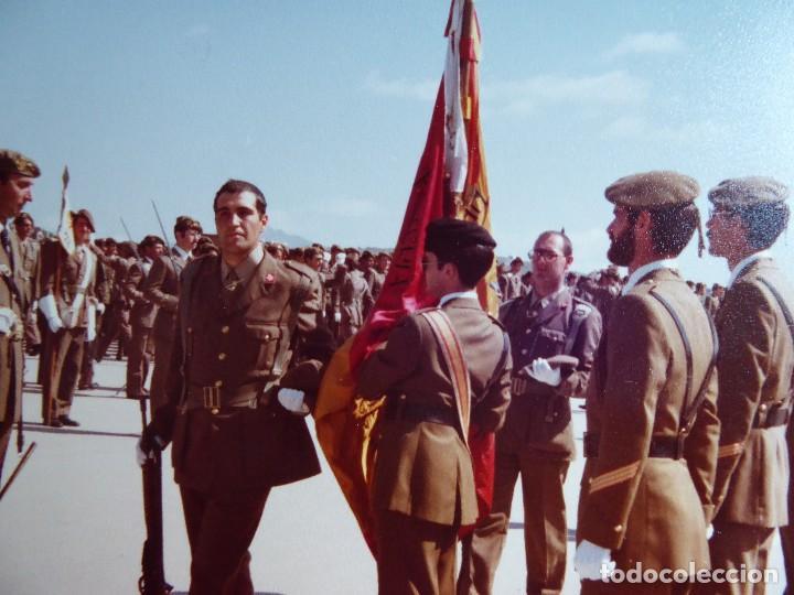Militaria: Fotografía soldado del ejército español. CIR Jura de bandera - Foto 3 - 128832215