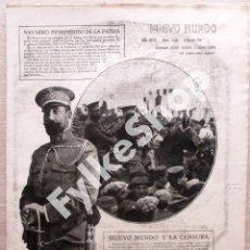 Militaria: MARRUECOS. GENERAL NAVARRO, SILVESTRE, PINTO LEDESMA, DIAZ ORDOÑEZ, DIEZ VICARIO, BURGUETE.... Lote 128881191