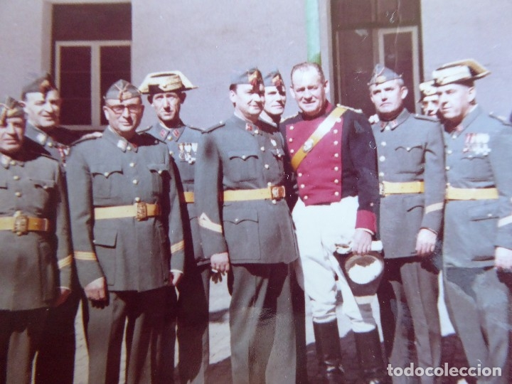 Militaria: Fotografía Guardias Civiles. 1966 - Foto 4 - 129023203