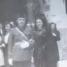 Militaria: FOTOGRAFÍA SARGENTO GUARDIA CIVIL. 1948. Lote 129102403