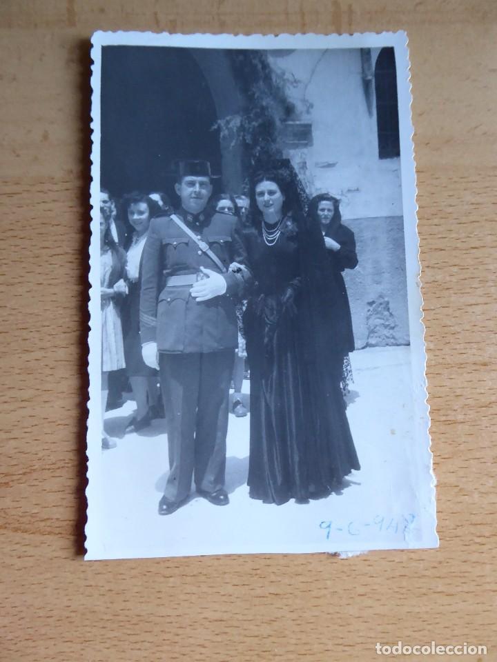 Militaria: Fotografía sargento Guardia Civil. 1948 - Foto 2 - 129102403