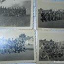 Militaria: CEUTA FOTOS BATALLON SOLDADOS CON EQUIPO CARETAS ANTIGAS LAVORATORIO ROS. Lote 129158815