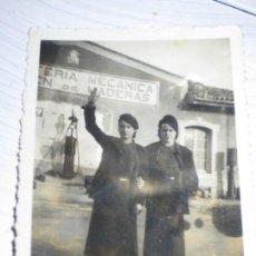Militaria: FALANGISTAS CHICAS SOLDADOS ANTIGUA FOTO MILITAR FEMENINO FALANGE MELILLA GUERRA CIVIL 1939. Lote 129159539