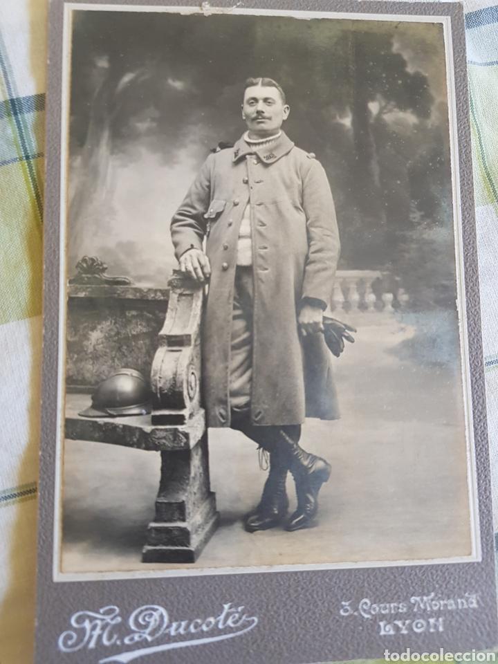 Militaria: 3 fotografías francia primera guerra mundial - Foto 4 - 129346272