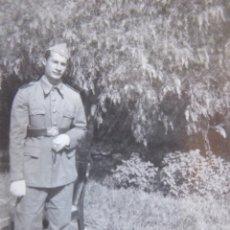 Militaria: FOTOGRAFÍA SOLDADO AVIACIÓN. TETUÁN 1946. Lote 129379595